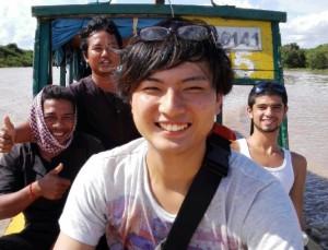 東南アジア笑顔